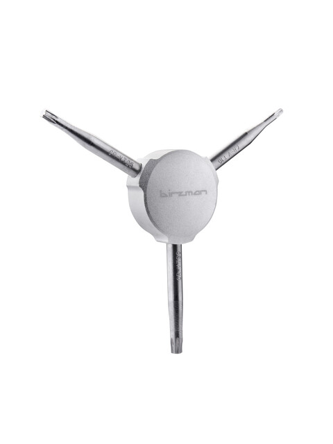 Birzman Y-Grip Torxschlüssel T10/T25/T30 silber